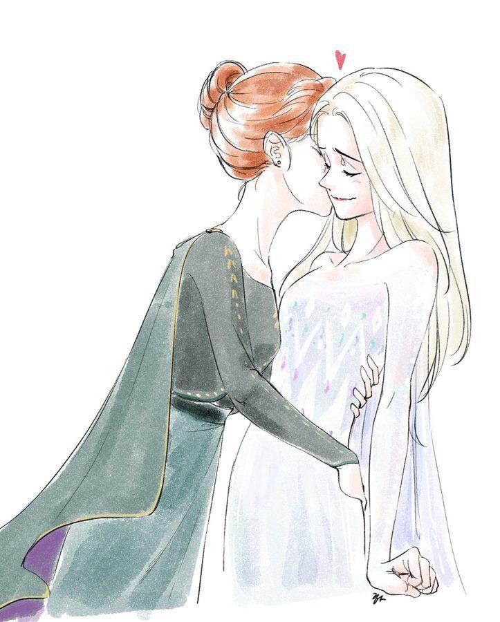 Elsanna World Frozen Disney Anna Disney Frozen Elsa Frozen Disney Movie