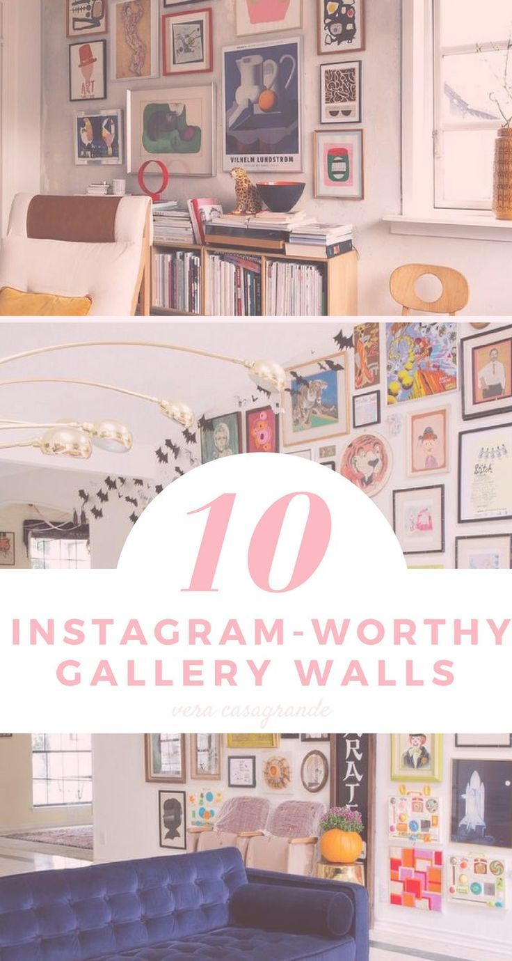 instagramworthy gallery walls you need gallery wall space