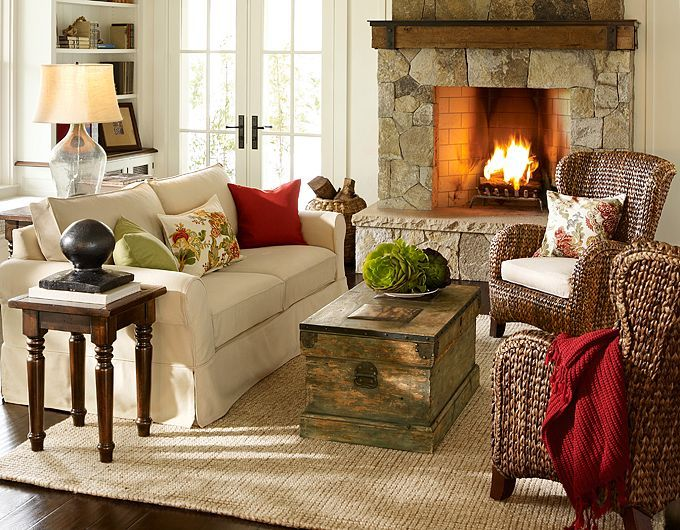 Great 28 Elegant And Cozy Interior Designs By Pottery Barn