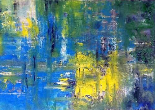 Abstract Nature Art Tags Abstract Art Nature Water Modern Age Abstract Art Colour Field