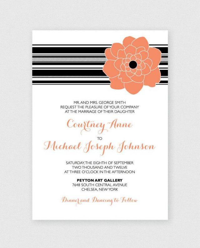 #pink #flower #invitation