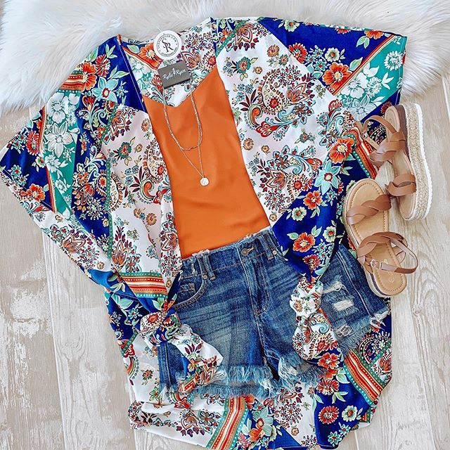 📲☀️ #newarrivals #kimono #summer #shoplocal #onlineshopping