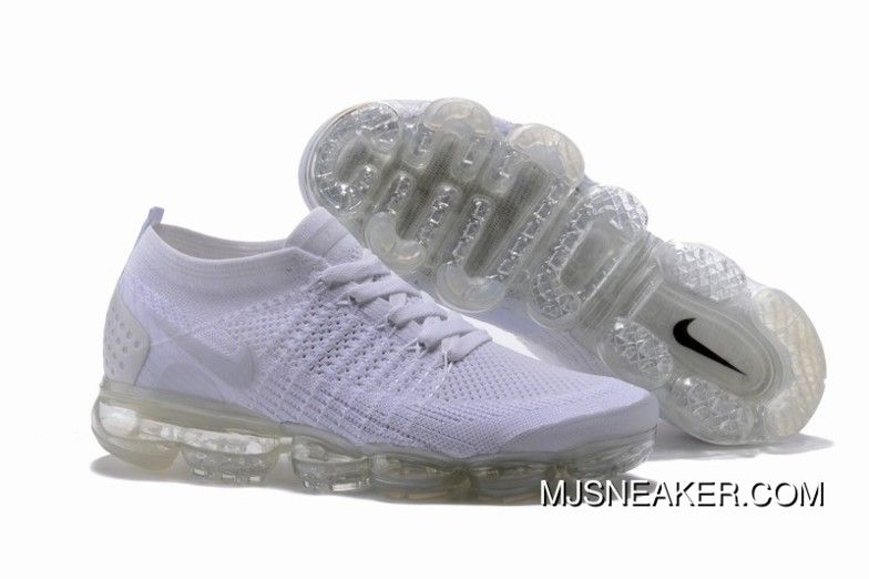 5fccc84227f Nike Air VaporMax Flyknit 2 All White New Release in 2019