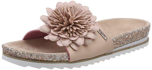 Bugatti Damen 421472915900 Pantoletten, Pink (Rose), 37 EU