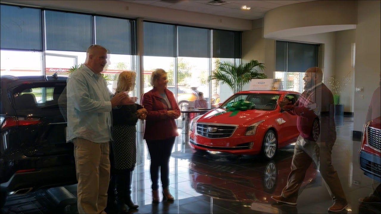 Fields Cadillac Jacksonville Florida >> Our Team At Fields Cadillac Jacksonville Congratulates Mrs
