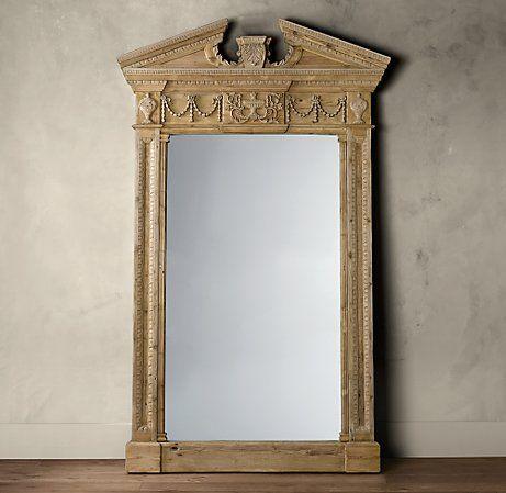 Restoration Hardware floor mirror~ | Furniture | Pinterest | Floor ...