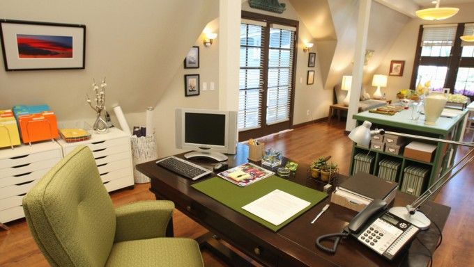 attic office brees from dh garage office test kitchen