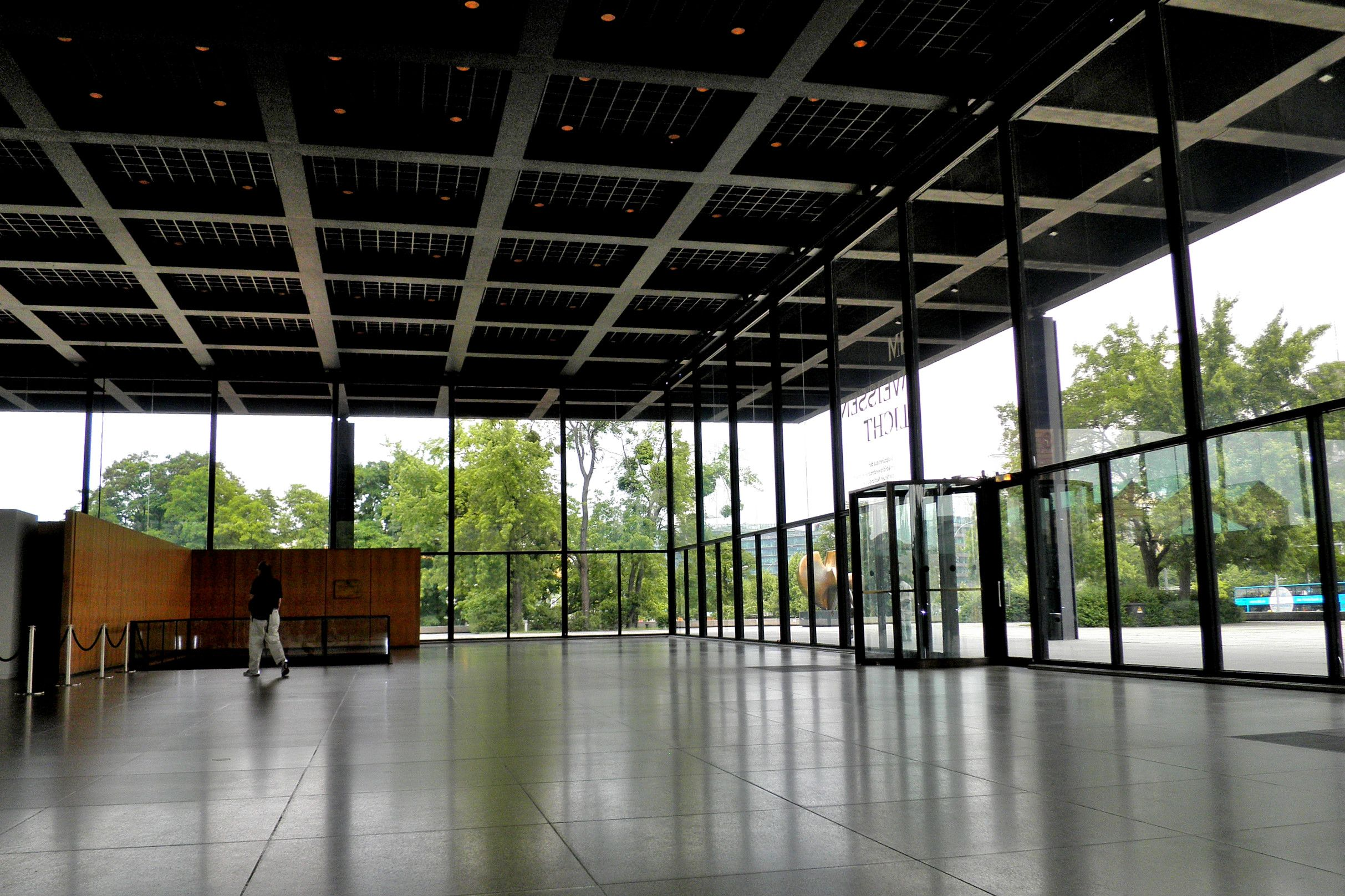 Mies van der Rohe; Neue Nationalgalerie, Berlin, 1962-68 ...