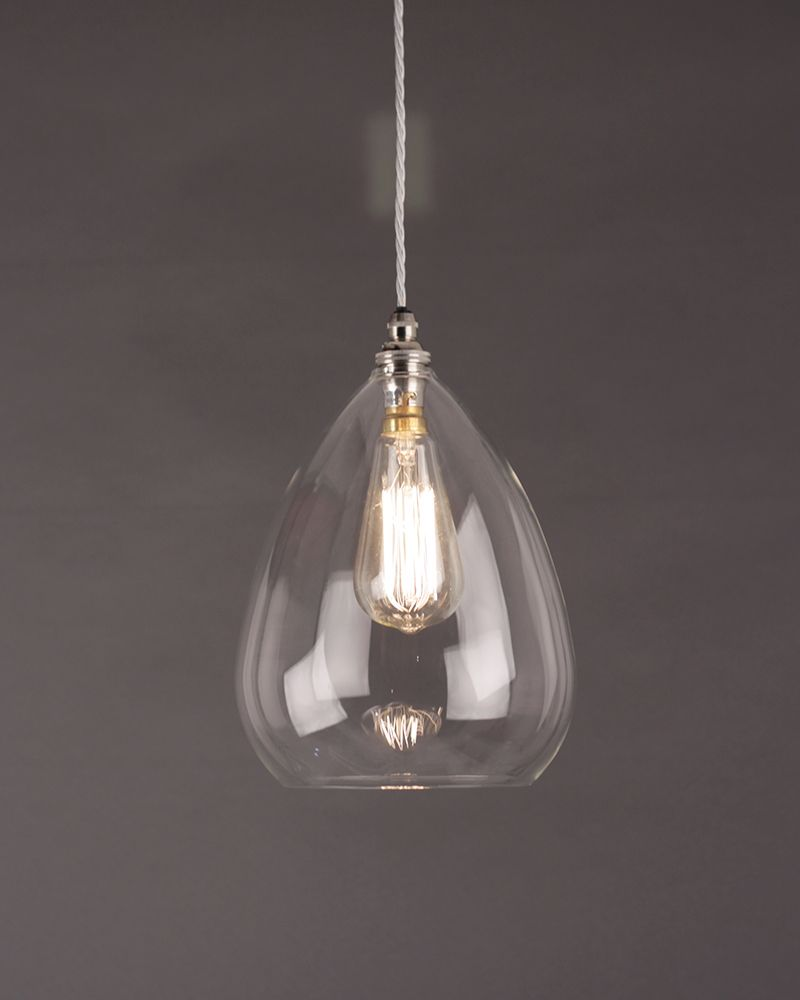 Wellington Clear Glass Pendant Light