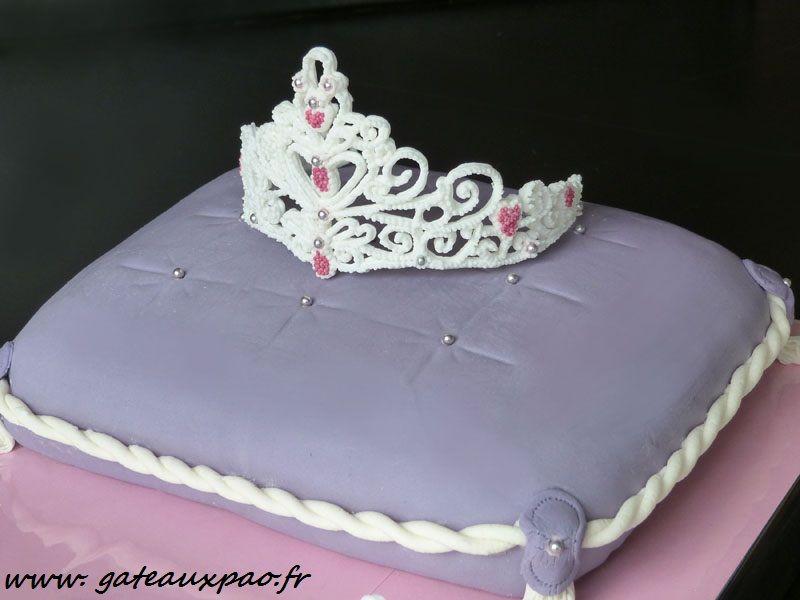 G teau princesse g teau d 39 anniversaire pinterest couronne princesse g teau prince et prince - Couronne princesse a decorer ...