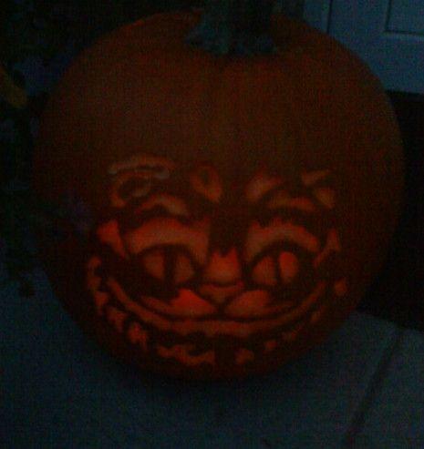 My cheshirecat pumkin