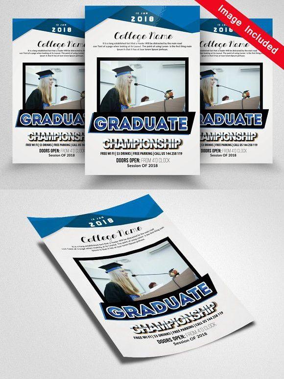 Graduation Flyer Template | Graduate Flyer Templates Flyer Templates Flyer Templates