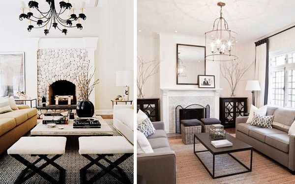 How To Decorate The Living Room With A Double Ottoman 15