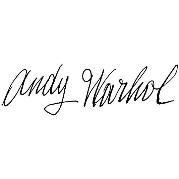 Préférence andy warhol, pop art icon, signature | Arte | Pinterest | Arte LM88
