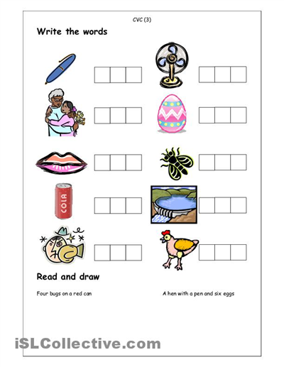 Number Names Worksheets : worksheets for kindergarten spelling ...