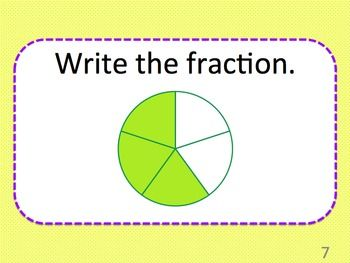 Fractions review powerpoint presentation 24 questions grades 2 3 fractions powerpoint presentation great for whole class review split students into teams and keep ccuart Image collections