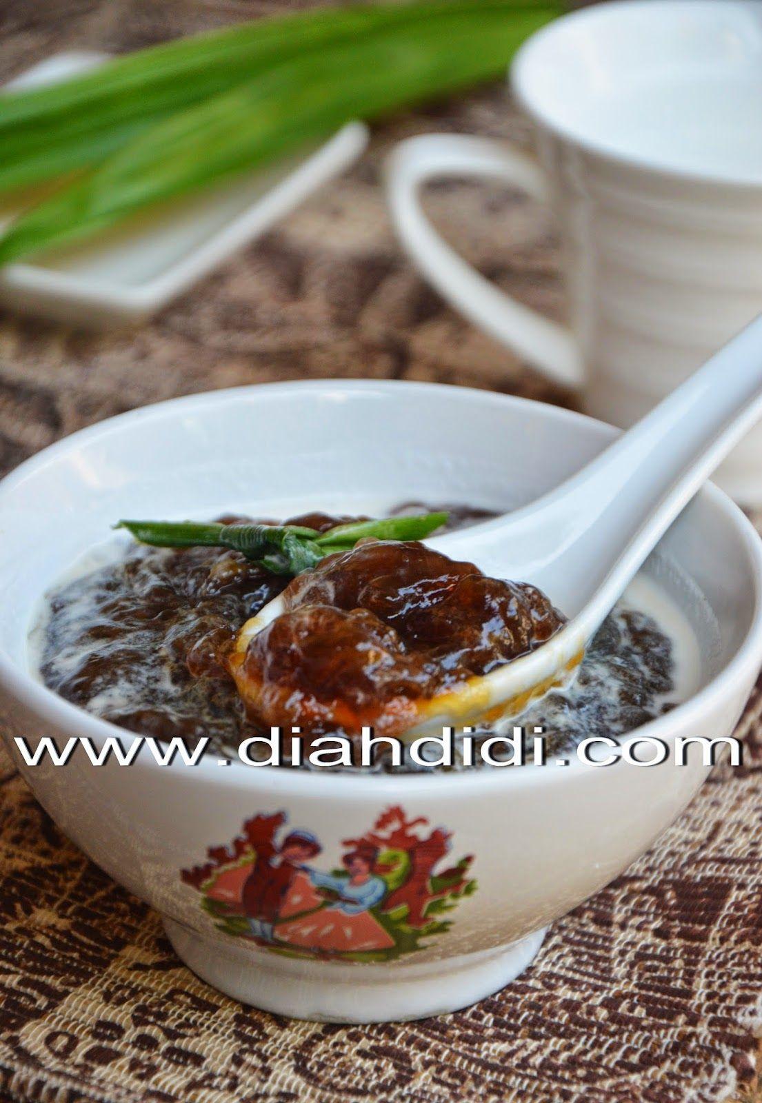 Diah Didi S Kitchen Bubur Pati Kerut Makanan Dan Minuman Resep Makanan Makanan Ringan Manis