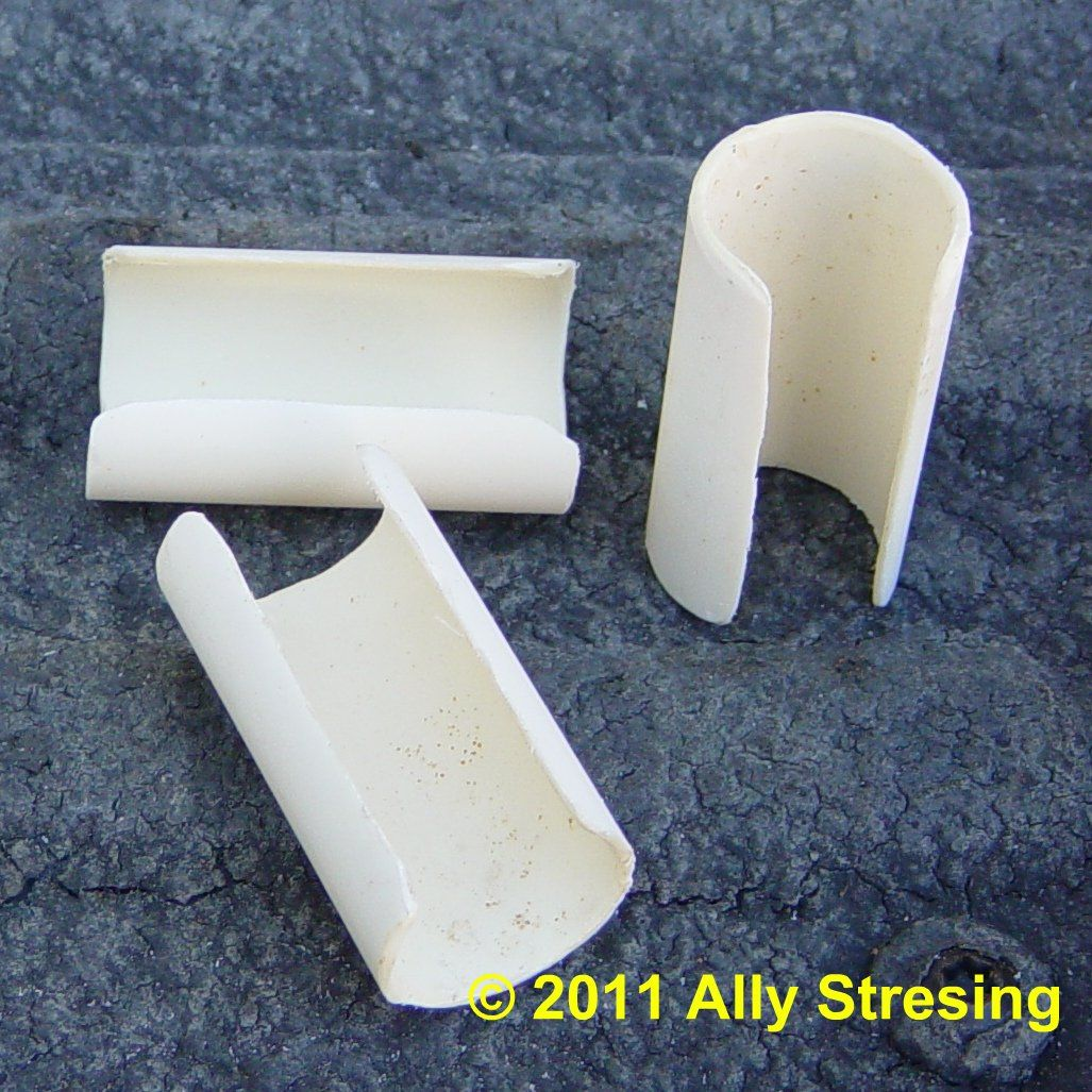 Homemade pvc Clips to hold fabric in place | PVC projects ...