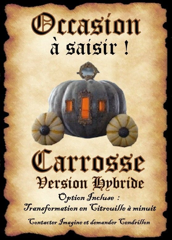 Carrosse cendrillon imagine affiches pinterest - Cendrillon et son carrosse ...