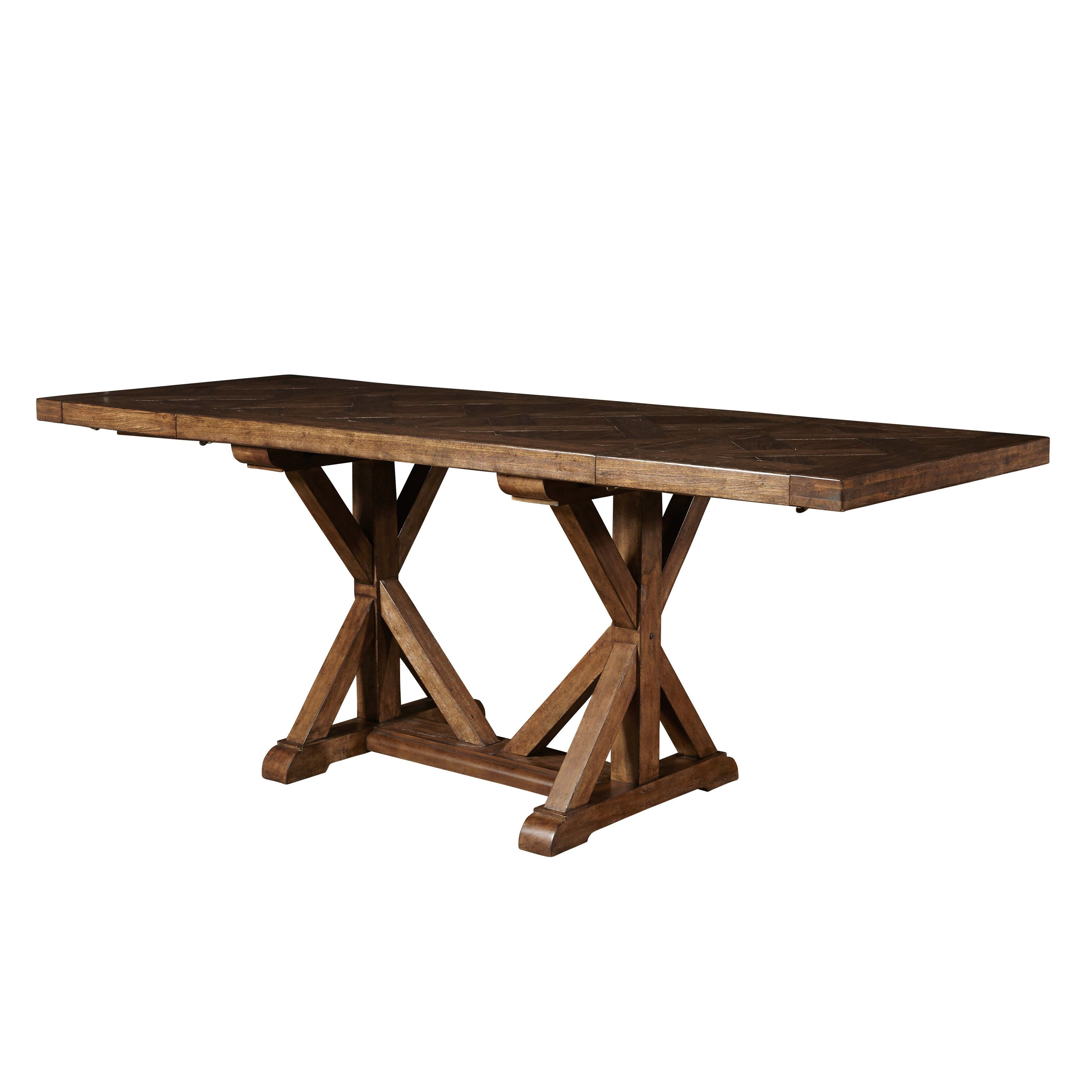 Lawrence Pulaski American Attitudes Cherry (Red) Saw Horse Table ...