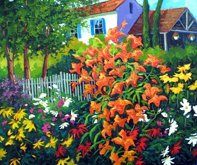 Jardin D'Ailleurs ~ Robert Savignac