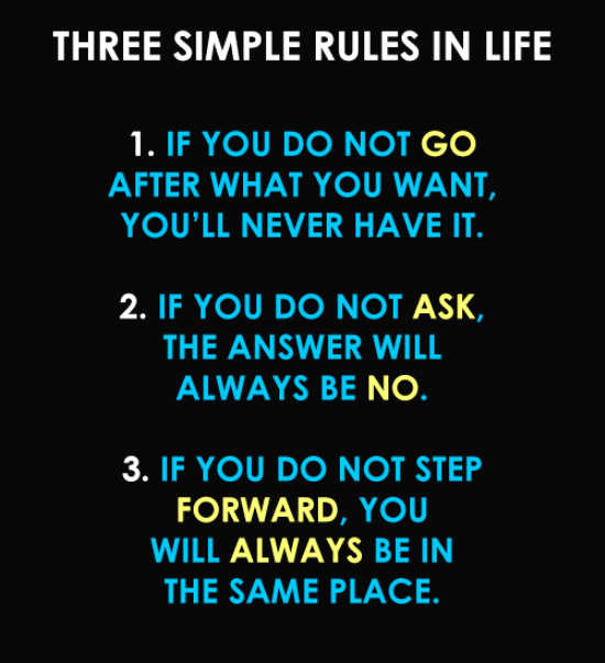 3 rules of life