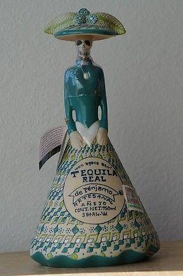 Tequila Real de Penjamo CATRINA Anejo 750ml Artesanal bottle