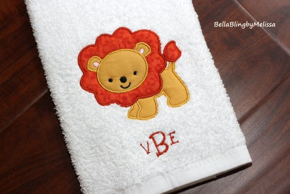 Personalized Kids Hand Towel Personalized by BellaBlingbyMelissa