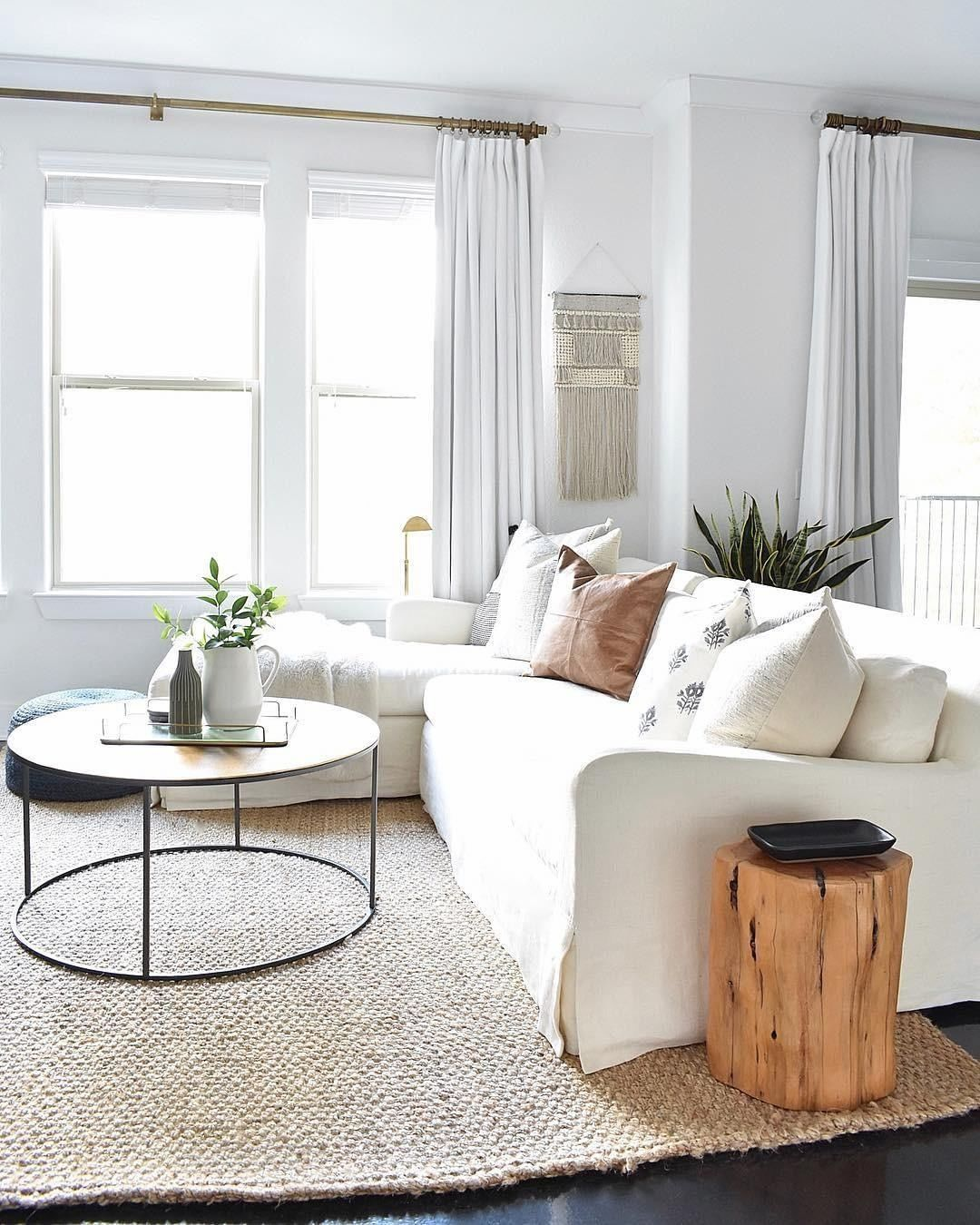 40 Most Beautiful Living Room Ideas 2019 Page 23 Of 42 Hairstylesofwomens Com Living Room Remodel Organic Living Room Curtains Living Room