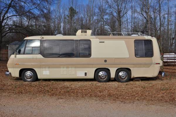 1975 Gmc Eleganza Ii Motorhome Rv 4500 Obo 4500 Fayetteville