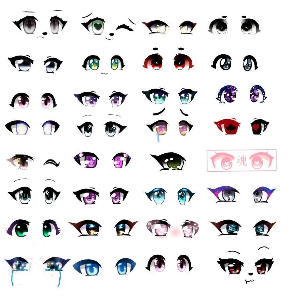 Anime Eye Image Tutorial Eye Drawing Tutorial In 2020 Anime Eye Drawing Anime Eyes Chibi Eyes