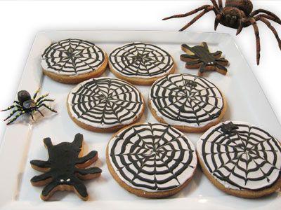 Halloween SpiderWeb Cookies..oohh