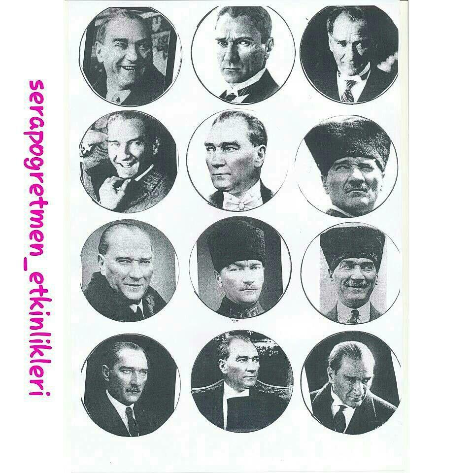 Ataturk Saati Kalip 1 Serapogretmen Serapogretmen Etkinlikleri