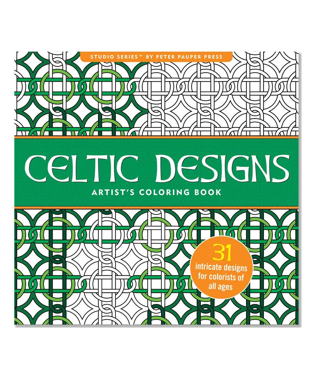 Celtic Designs Artists Coloring Book
