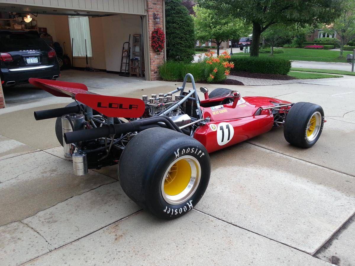 vintage lola formula 1 car chassis design Google Search