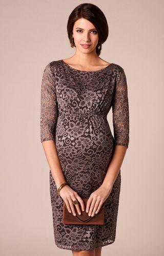 43ab97225bff Abigail Lace Dress. Abigail Maternity Lace Dress Cocoa by Tiffany Rose  Maternity ...