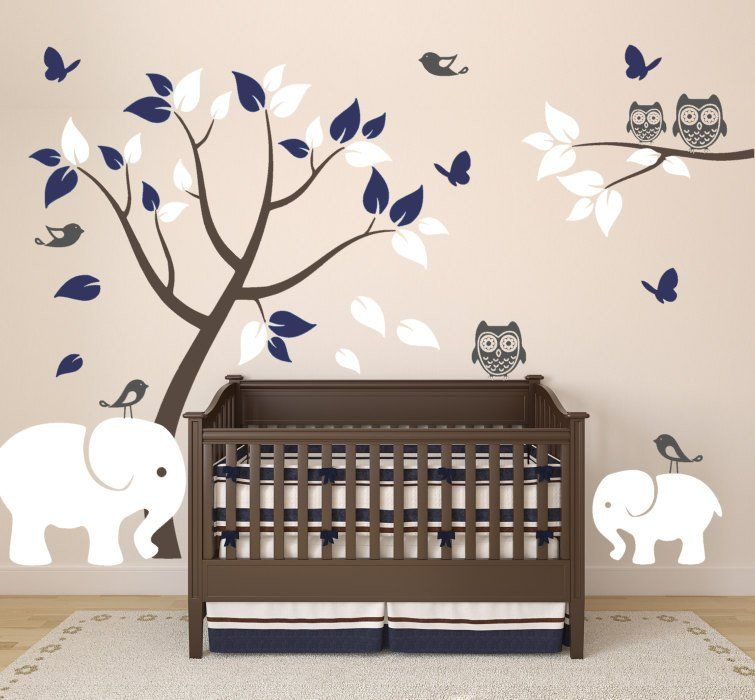 of designs elephant wall colors for baby decal interior bedroom decor paint nursery bedrooms room bubbles