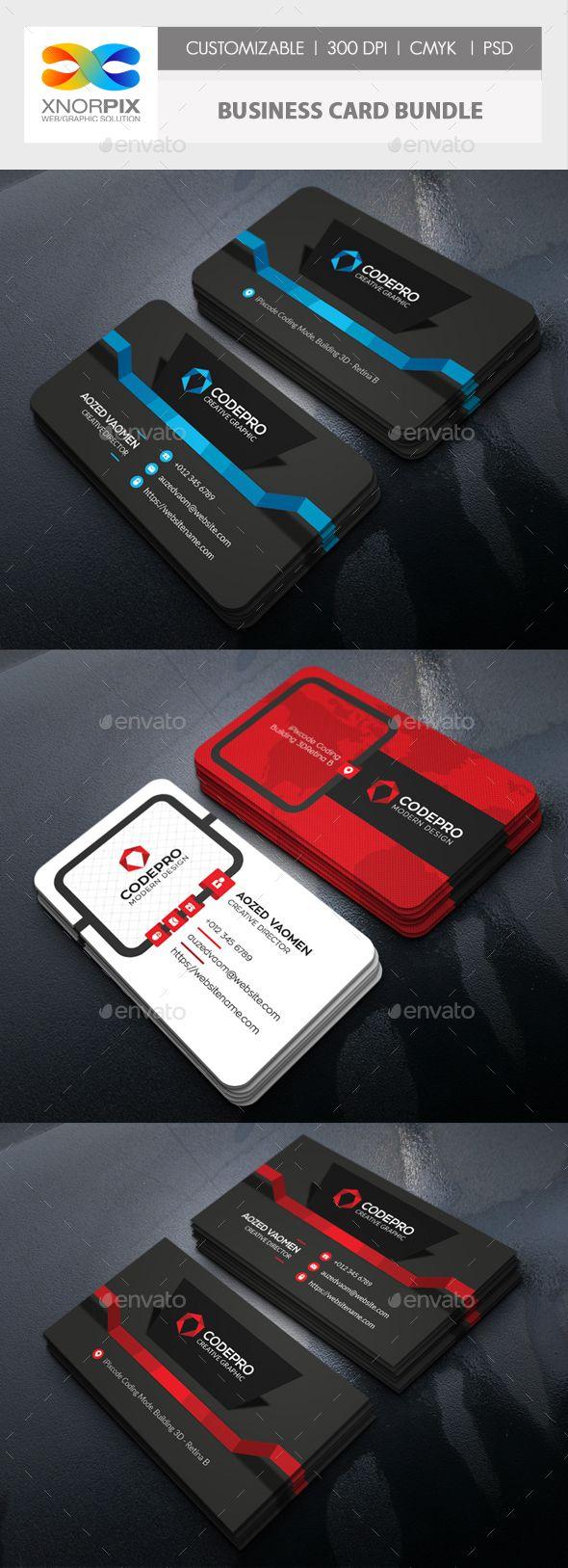 Business card bundle carto cartes de visita e visita reheart Choice Image