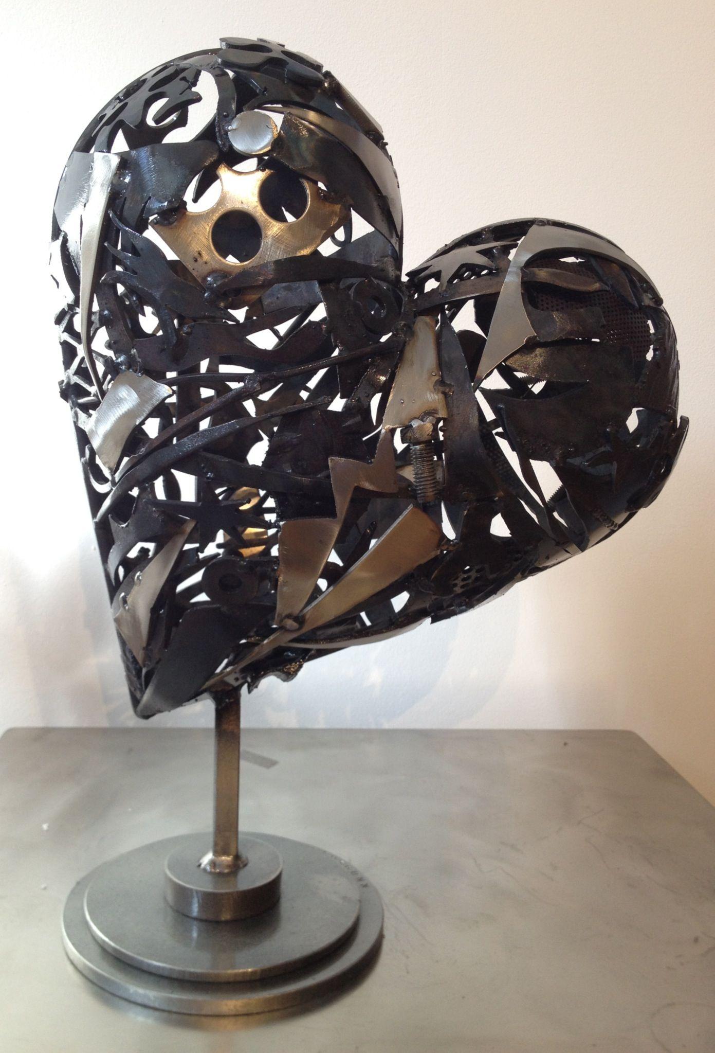 Steel Heart Sculpture 2013 Steel Sculpture Sculpture Steel
