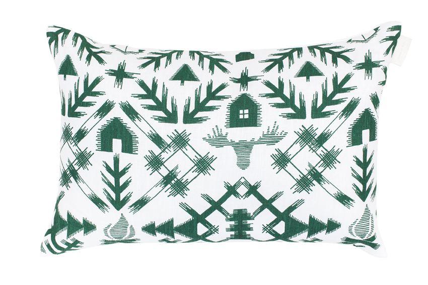 Saana ja Olli - Villi pohjola interior pillow | Villi pohjola -sisustustyyny