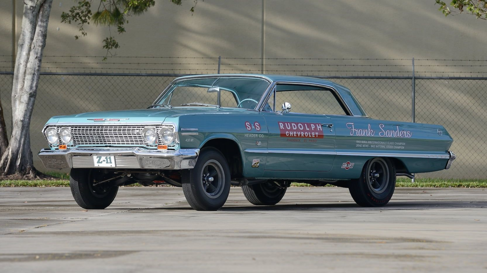1963 Chevrolet Impala Z11 Presented As Lot F132 At Kissimmee Fl