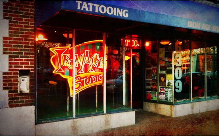 Iron age tattoo shop sign tattoocare molotattoocare for Tattoo shops in el cajon
