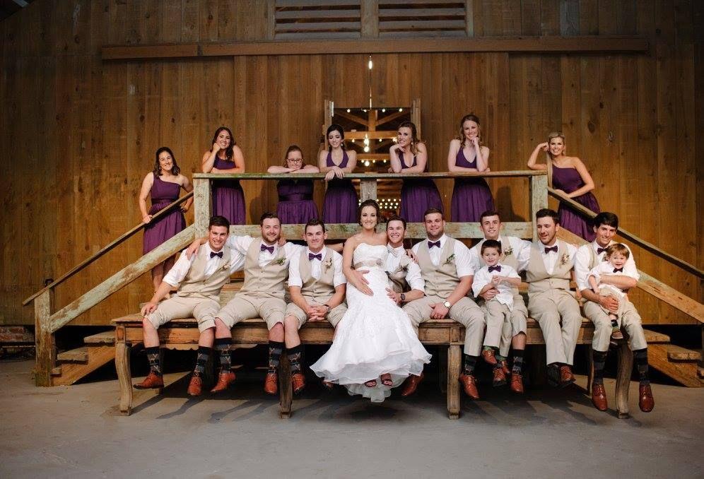 Freman Wedding Carriageway in back of Mule Barn