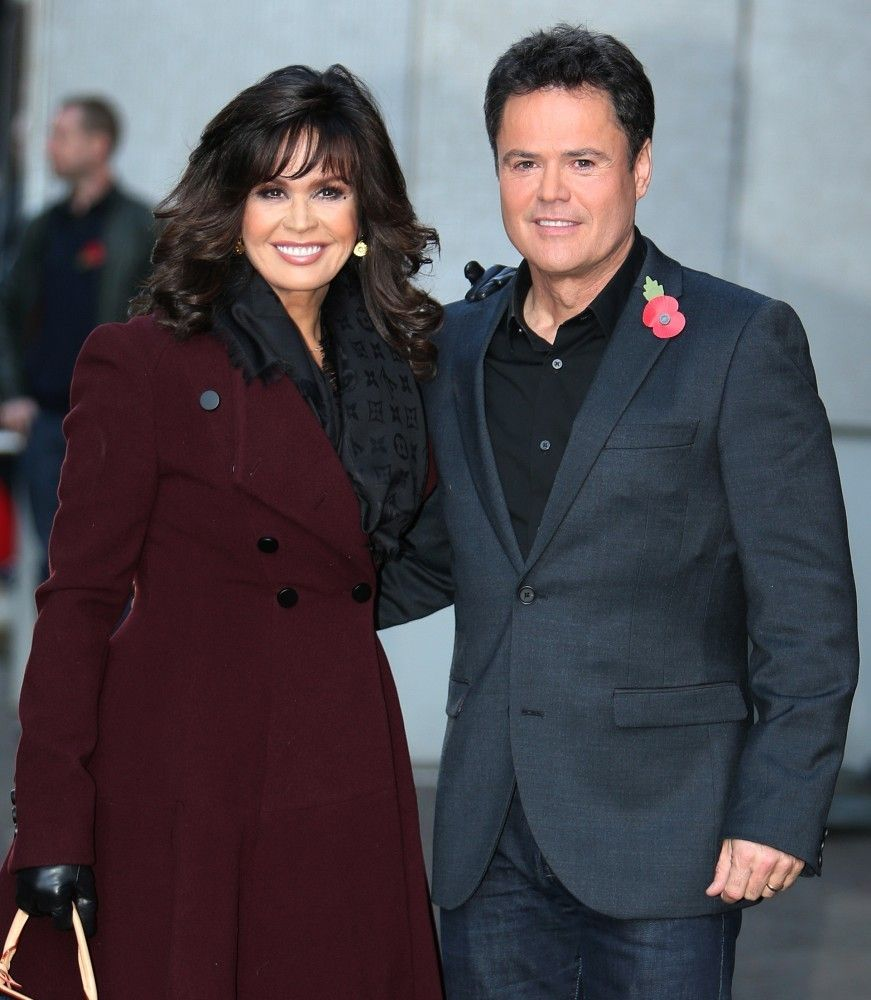 Marie Osmond - Donny and Marie Osmond in London.I loved listening to Donny & Marie.Please check out my website thanks. www.photopix.co.nz