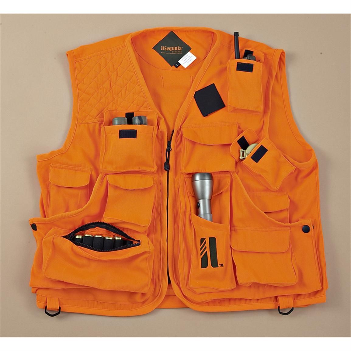 0bdcdb4d01b45 Sequoia Orion VestPak Orange Hunting Vest | hunting gear | Hunting ...