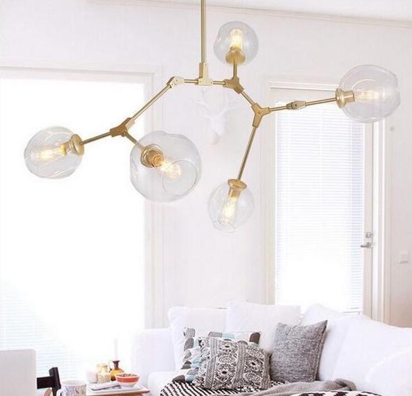 Lamont Modern LED Light #bubblekronleuchter