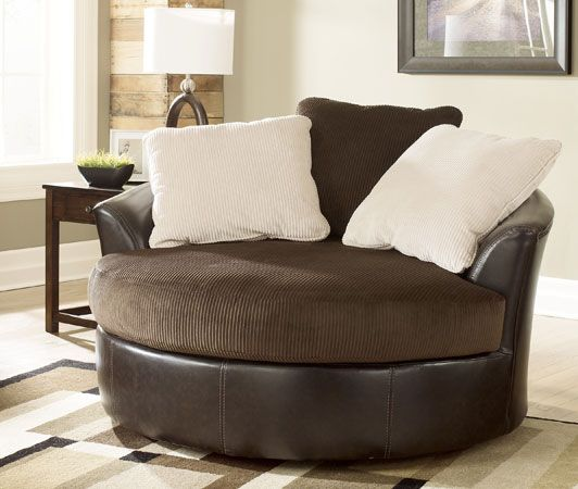 Charmant Swivel Recliner Chairs For Living Room | ... Oversized Swivel Chair Code  5070021 Victory Chocolate Oversized Swivel