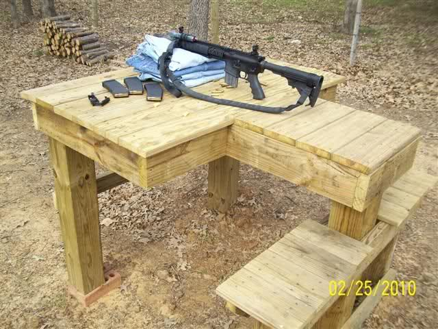 Building A Shooting Table Shooting Table Shooting Bench Plans Shooting Bench