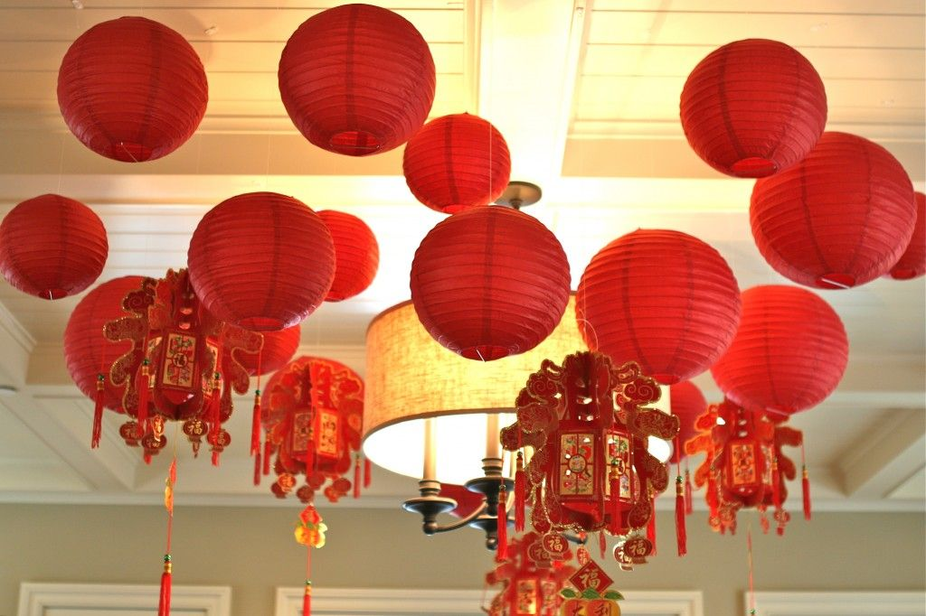 Chinese New Year Baby Shower | Baby shower balloon ...