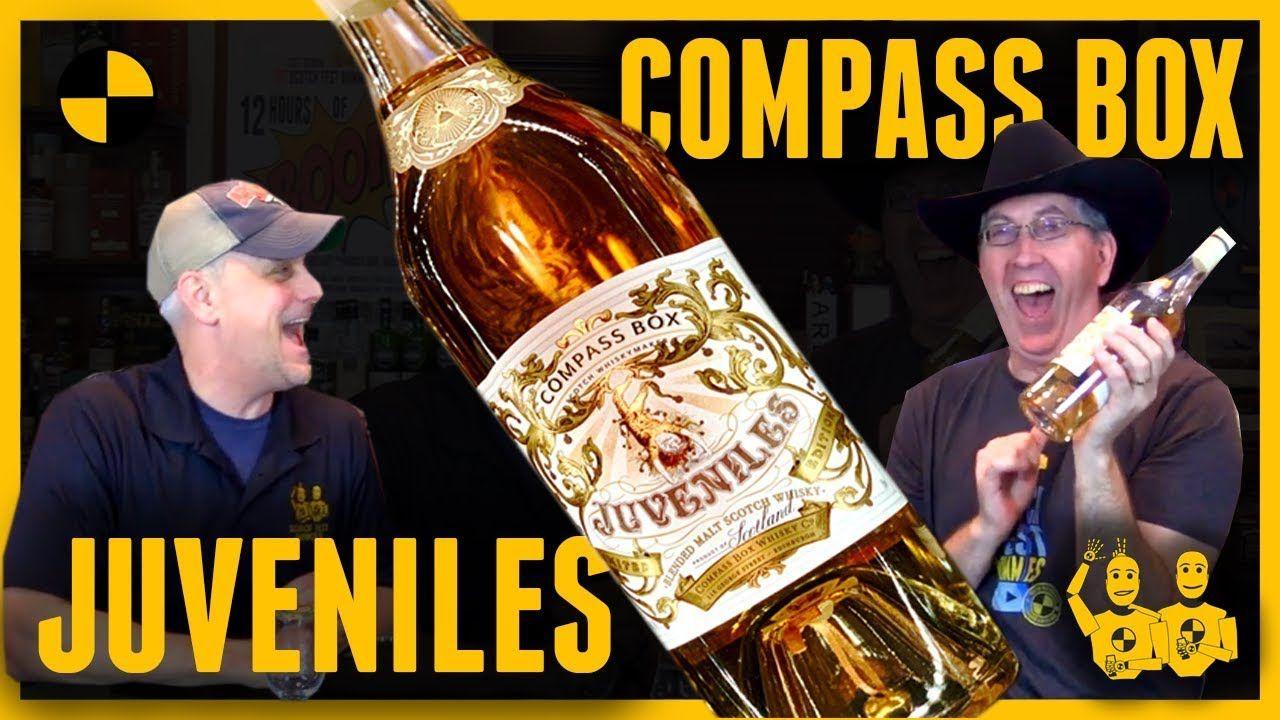Compass Box Juveniles Blended Malt Jingle Bell Surprise With The Sco Gold Peak Tea Bottle Malt Wine And Beer